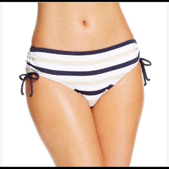 88a95daf703 Michael Kors Striped Hipster Bikini Bottom NWT
